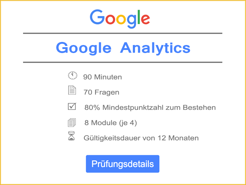 Details Google Analytics