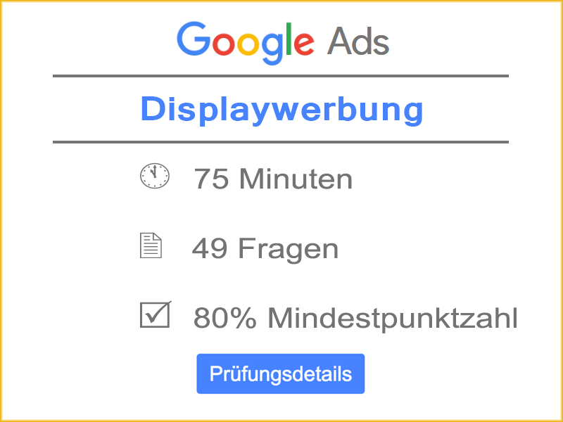 Details Google Ads Displaywerbung